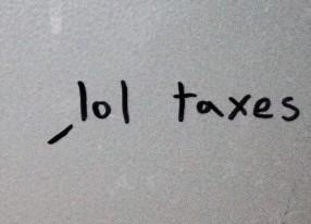 lol taxes