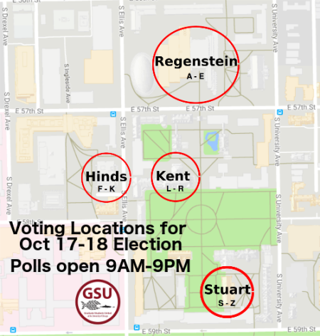Voting locations UChicago - w times