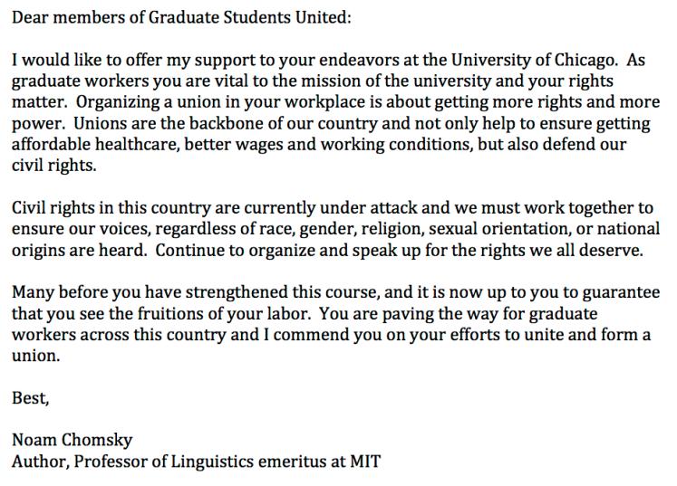 Support Letter-GSU-Noam Chomsky