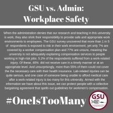 workplace safety narrative